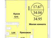 Квартиры,  Краснодарский край Краснодар, цена 1 048 500 рублей, Фото