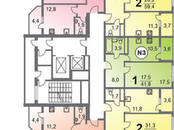 Квартиры,  Ярославская область Ярославль, цена 3 057 040 рублей, Фото