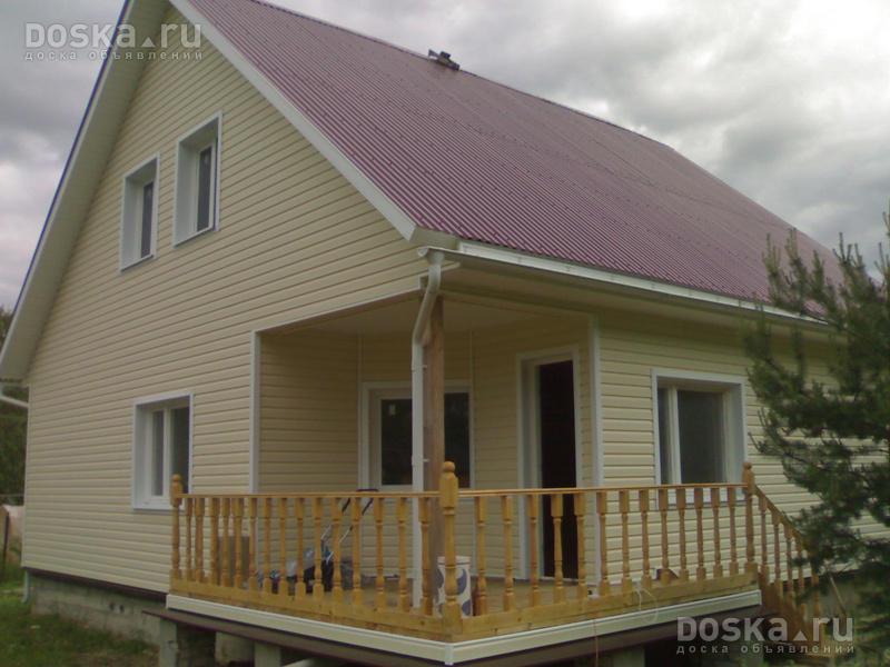 Дизайн домов из профлиста