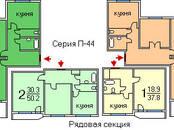 Квартиры,  Москва Кантемировская, цена 9 100 000 рублей, Фото