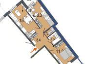 Квартиры,  Санкт-Петербург Комендантский проспект, цена 5 247 570 рублей, Фото