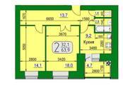 Квартиры,  Рязанская область Рязань, цена 2 380 000 рублей, Фото