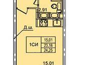 Квартиры,  Ленинградская область Всеволожский район, цена 1 950 000 рублей, Фото