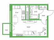 Квартиры,  Санкт-Петербург Старая деревня, цена 4 320 000 рублей, Фото