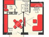 Квартиры,  Краснодарский край Краснодар, цена 1 209 000 рублей, Фото