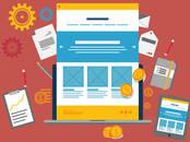 Интернет-услуги Web-дизайн и разработка сайтов, цена 4 900 рублей, Фото