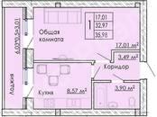Квартиры,  Краснодарский край Динская, цена 1 039 000 рублей, Фото