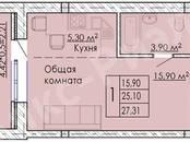 Квартиры,  Краснодарский край Динская, цена 846 000 рублей, Фото