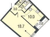 Квартиры,  Санкт-Петербург Комендантский проспект, цена 4 131 750 рублей, Фото