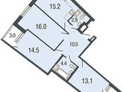 Квартиры,  Санкт-Петербург Комендантский проспект, цена 8 344 391 рублей, Фото