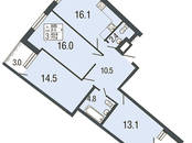 Квартиры,  Санкт-Петербург Комендантский проспект, цена 8 020 500 рублей, Фото