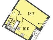Квартиры,  Санкт-Петербург Комендантский проспект, цена 4 080 403 рублей, Фото