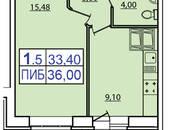 Квартиры,  Ленинградская область Всеволожский район, цена 3 751 000 рублей, Фото