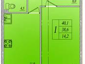 Квартиры,  Ленинградская область Всеволожский район, цена 3 118 900 рублей, Фото
