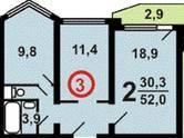 Квартиры,  Москва Другое, цена 5 390 200 рублей, Фото
