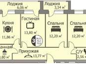 Квартиры,  Краснодарский край Горячий Ключ, цена 2 287 000 рублей, Фото