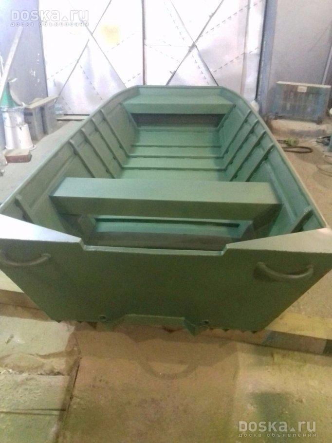лодка плоскодонка с мотором