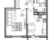 Квартиры,  Краснодарский край Новороссийск, цена 1 692 000 рублей, Фото
