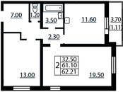Квартиры,  Санкт-Петербург Гражданский проспект, цена 4 168 070 рублей, Фото