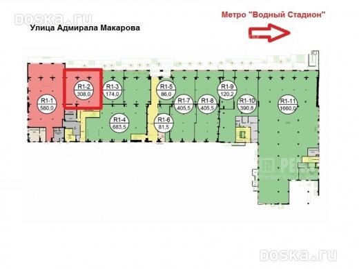Мводный стадион, уладмирала макарова, д14, аренда квартир в москве, id объекта - 317612646 - фото 1