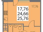 Квартиры,  Санкт-Петербург Площадь мужества, цена 3 021 650 рублей, Фото
