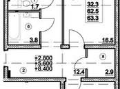Квартиры,  Ленинградская область Ломоносовский район, цена 3 312 400 рублей, Фото