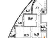 Квартиры,  Ленинградская область Всеволожский район, цена 6 310 370 рублей, Фото