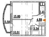 Квартиры,  Ленинградская область Всеволожский район, цена 3 028 020 рублей, Фото