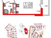Квартиры,  Ленинградская область Всеволожский район, цена 2 450 000 рублей, Фото