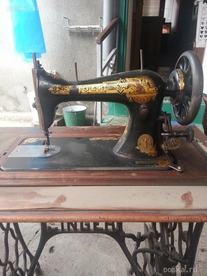 немецкая швейная машинка зингер проверяем:
