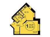 Квартиры,  Московская область Пушкинский район, цена 2 323 320 рублей, Фото