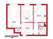 Квартиры,  Санкт-Петербург Комендантский проспект, цена 6 700 000 рублей, Фото