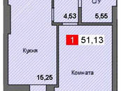 Квартиры,  Калининградскаяобласть Калининград, цена 2 069 000 рублей, Фото