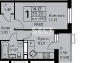 Квартиры,  Москва Теплый стан, цена 4 560 000 рублей, Фото
