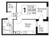 Квартиры,  Москва Теплый стан, цена 3 449 210 рублей, Фото