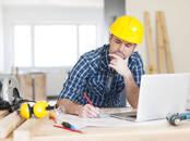 Строительные работы,  Строительные работы, проекты Оформление документации, цена 500 рублей, Фото