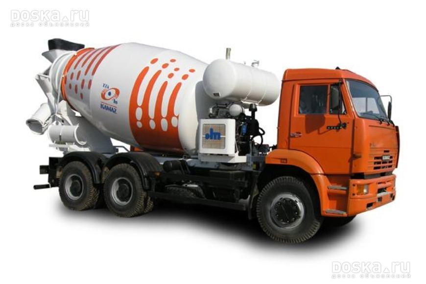 Купить автомобильный бетоносмеситель без шасси