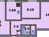 Квартиры,  Москва Бульвар Дмитрия Донского, цена 6 700 000 рублей, Фото