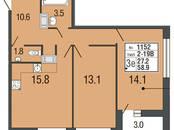 Квартиры,  Санкт-Петербург Комендантский проспект, цена 7 231 980 рублей, Фото