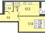 Квартиры,  Санкт-Петербург Комендантский проспект, цена 4 096 140 рублей, Фото