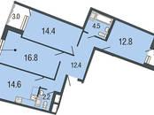 Квартиры,  Санкт-Петербург Комендантский проспект, цена 7 615 520 рублей, Фото