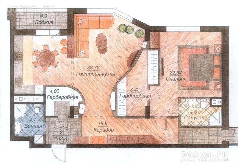 Самые лучшие планировки квартир