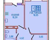 Квартиры,  Краснодарский край Краснодар, цена 1 876 500 рублей, Фото