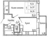 Квартиры,  Ленинградская область Всеволожский район, цена 2 520 000 рублей, Фото