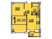 Квартиры,  Московская область Подольск, цена 1 973 680 рублей, Фото