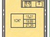 Квартиры,  Ленинградская область Всеволожский район, цена 1 600 000 рублей, Фото