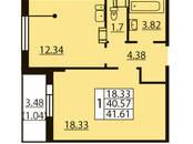 Квартиры,  Санкт-Петербург Проспект ветеранов, цена 3 994 560 рублей, Фото
