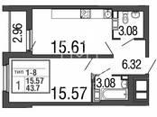 Квартиры,  Санкт-Петербург Елизаровская, цена 4 401 440 рублей, Фото